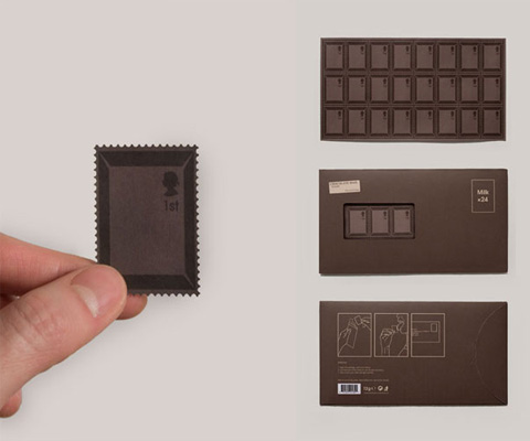 chocolate stamp by toby ng