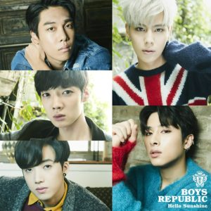 Boys Republic - Hello Sunshine  歌詞 PV