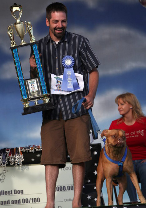 the 21st Annual World's Ugliest Dog Contest